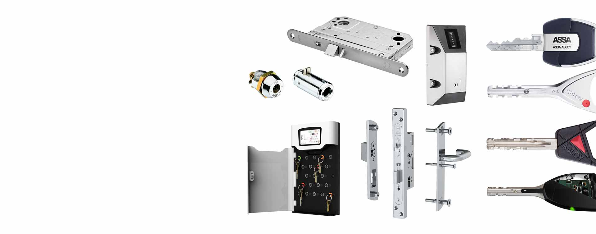 Our range of door control
